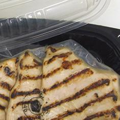 Flame Broiled Chicken Breasts, Tray Packed, Lower Sodium