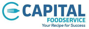 Capital Foodservice logo.