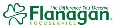 Flanagan Foodservice Inc. logo.