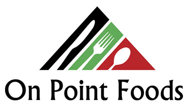 On Point Foods logo.