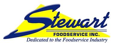 Stewart Foodservice Inc. logo.